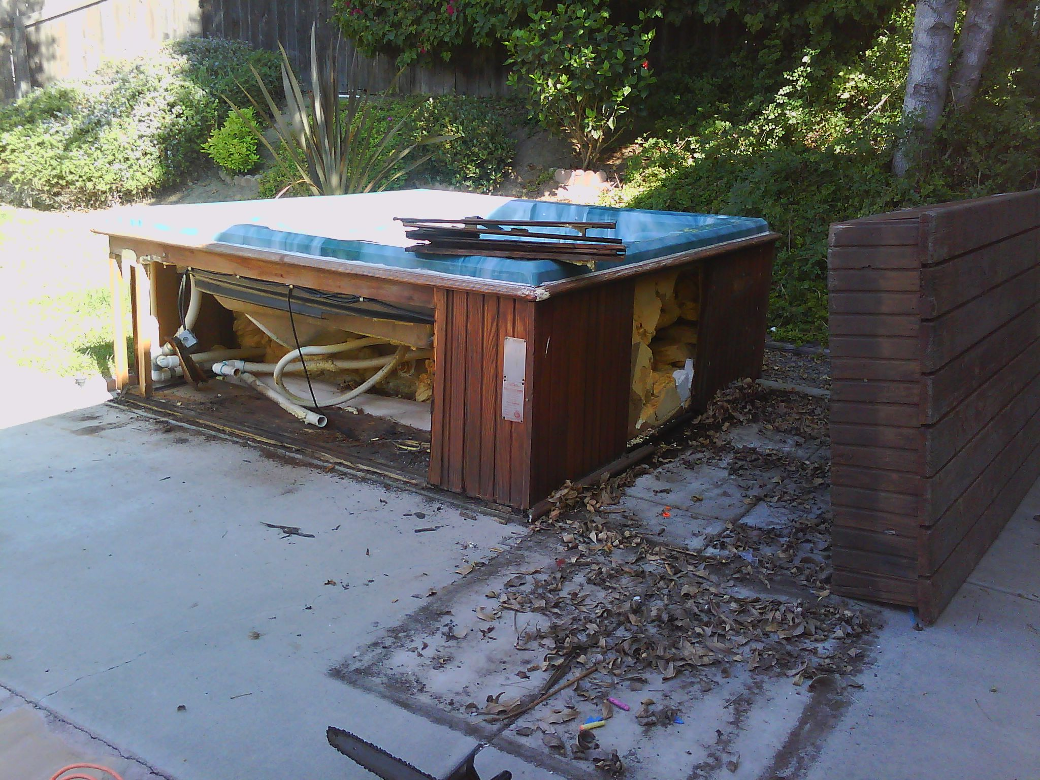Hot Tub Removal Services