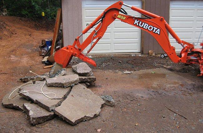 Driveway Demolition & Removal Services Northeast Pennsylvania