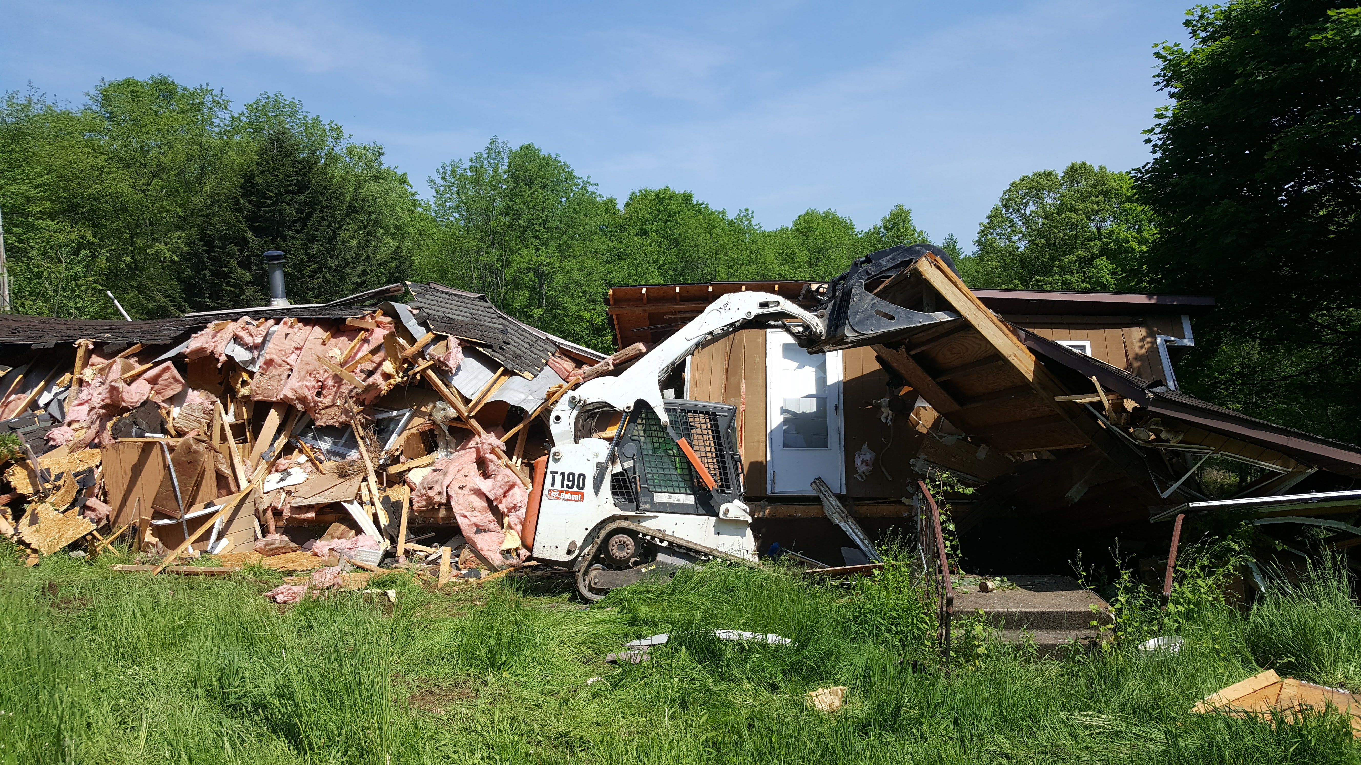Scranton, PA Wilkes-Barre, PA Mobile Home Demolition