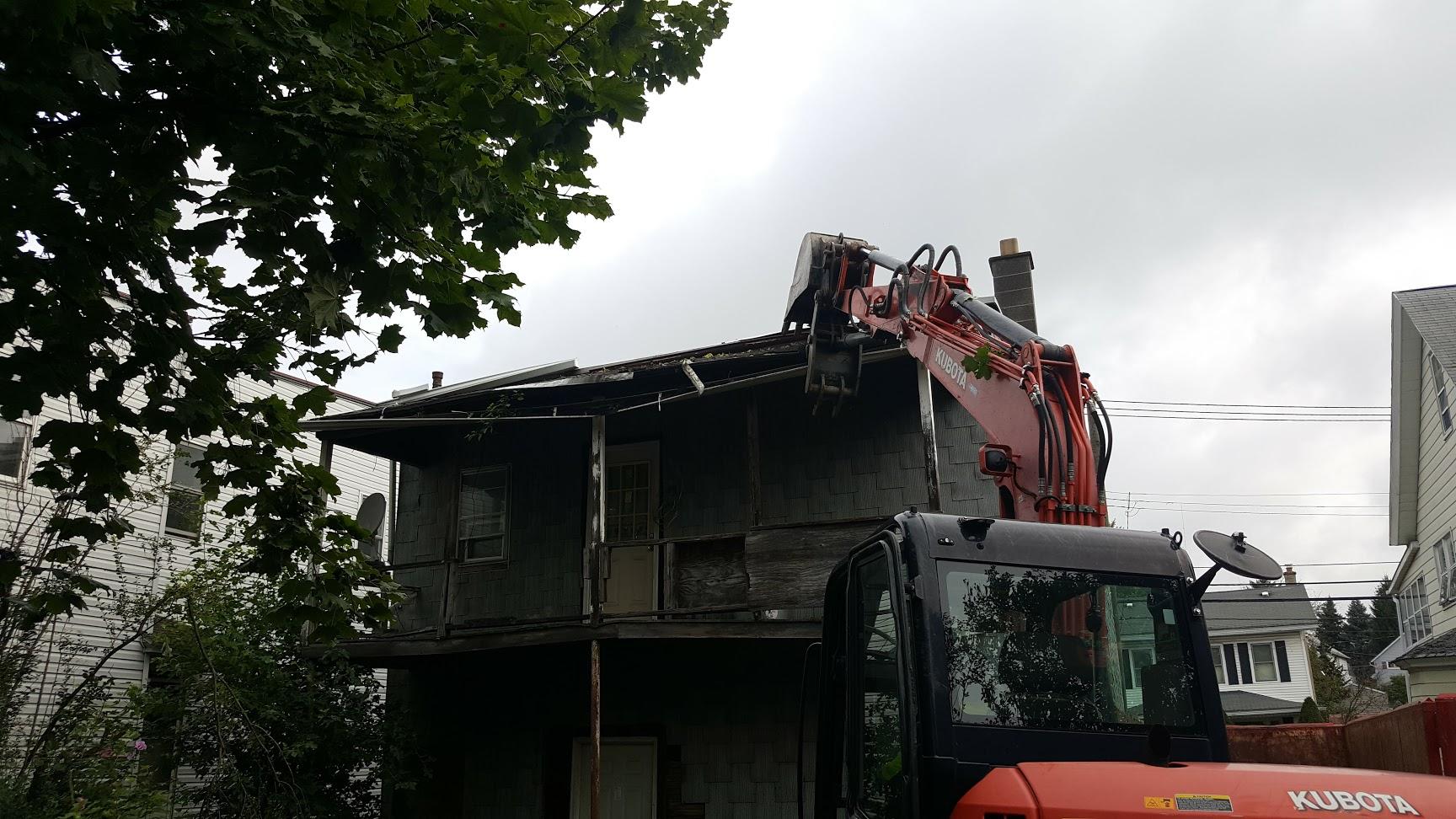 Northeast Pennsylvania Porch Demolition