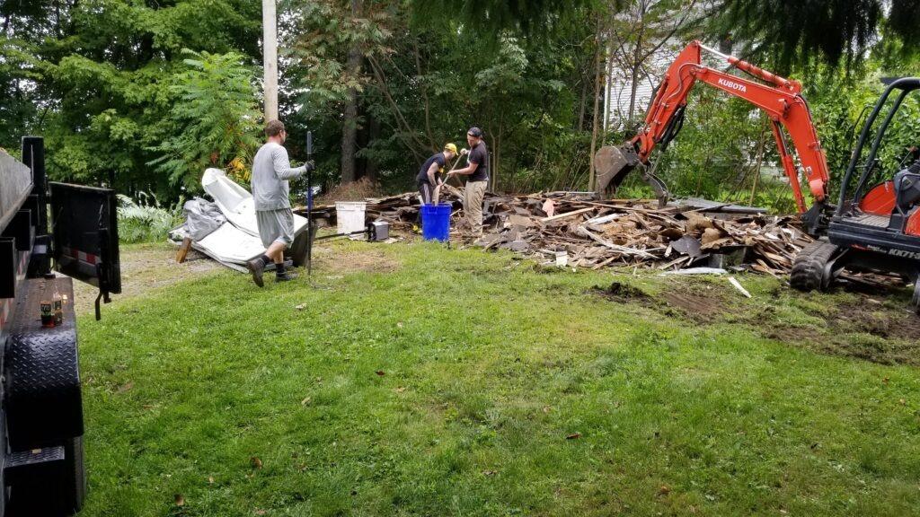 Scranton/Wilkes-Barre Garage Demolition