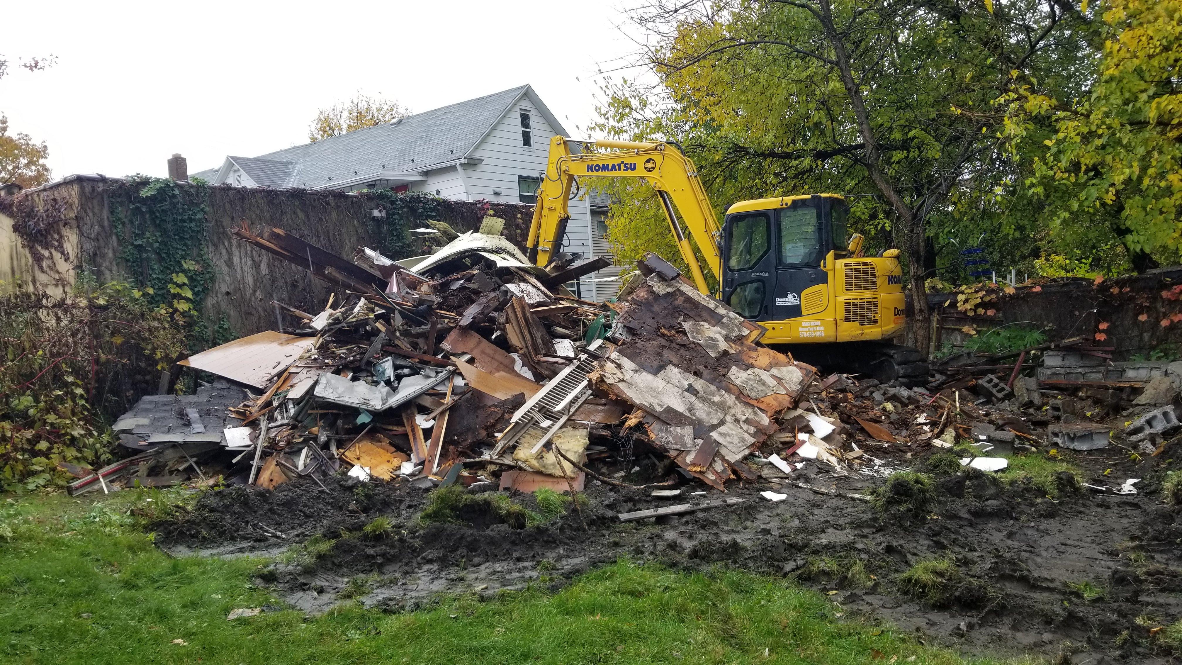 Garage Demolition Wilkes-Barre