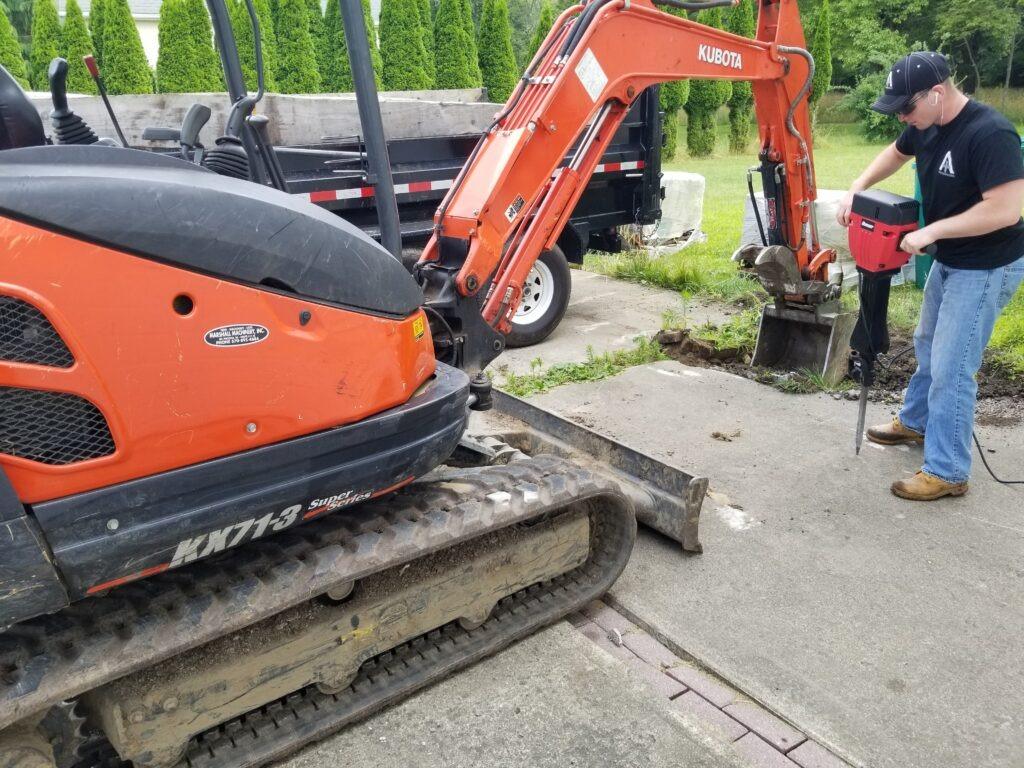 Concrete Removal Wilkes-Barre