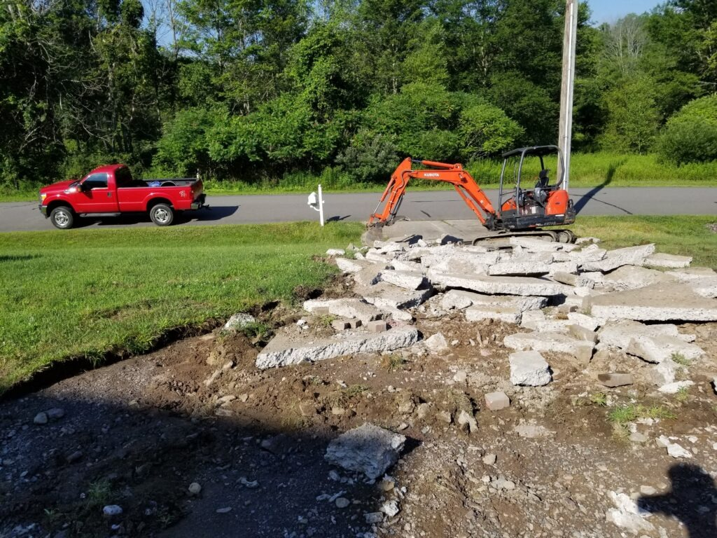 Wilkes-Barre Concrete Removal