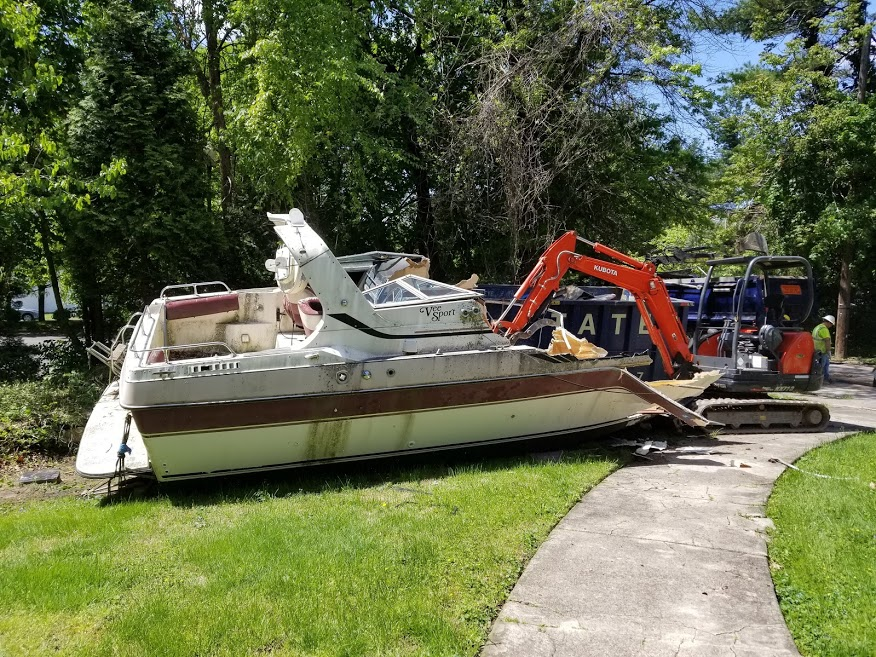 boat removal services near me