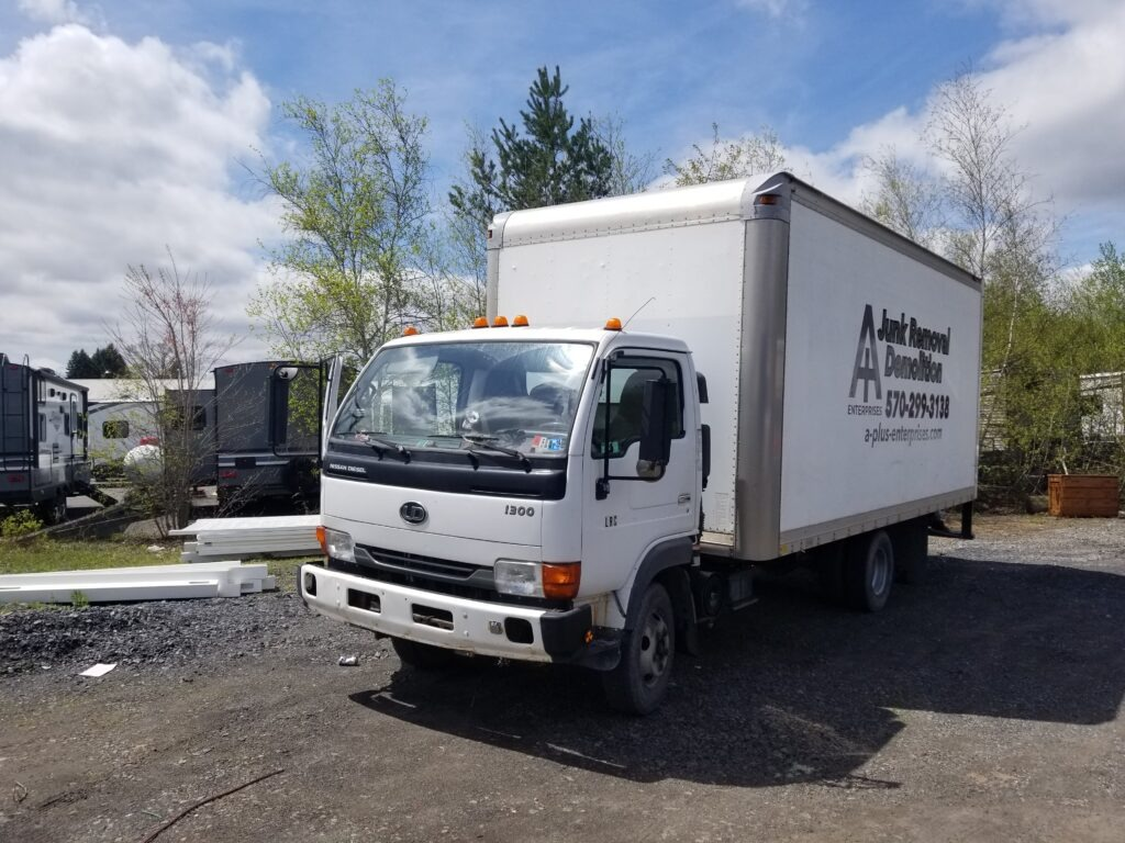 House Cleanout Service Truck