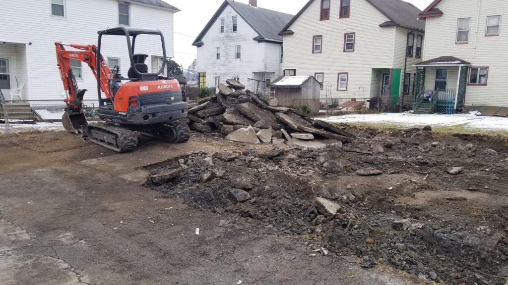 concrete demolition removal service scranton pa