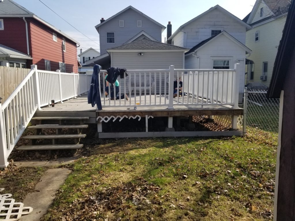 Deck dismantling and recycling scranton pa