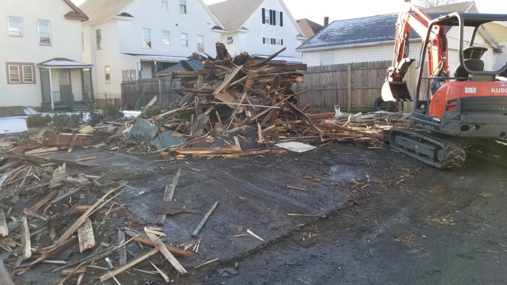 company that demolishes old garages wilkes-barre, pa