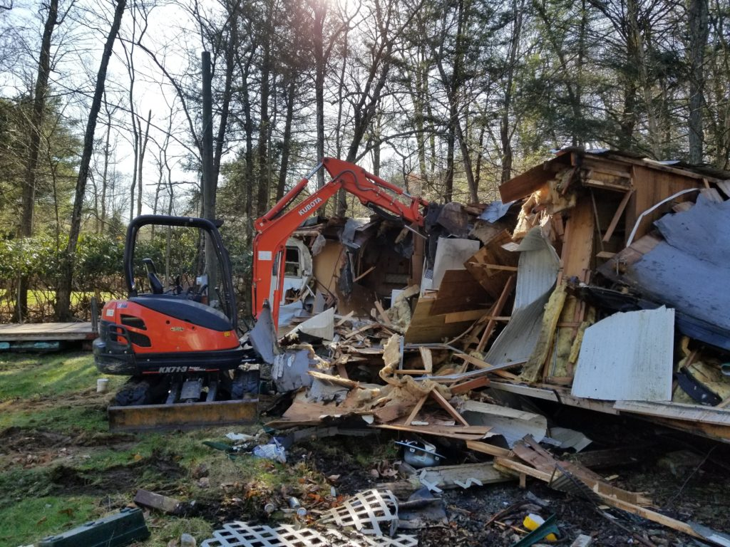 Demolition contractor in Wilkes-Barre, PA