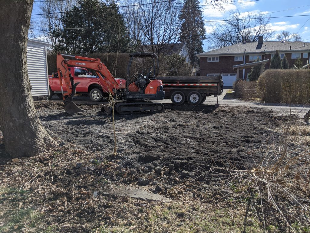 Garage demolition contractors Wilkes-Barre, PA