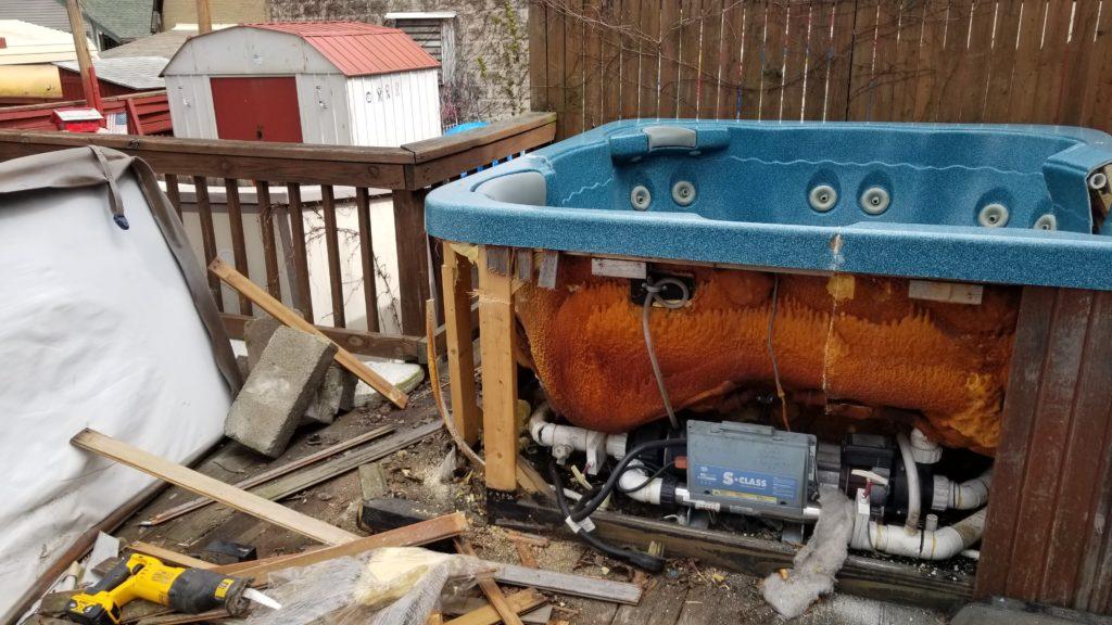 Scranton, PA Hot Tub Removal Services