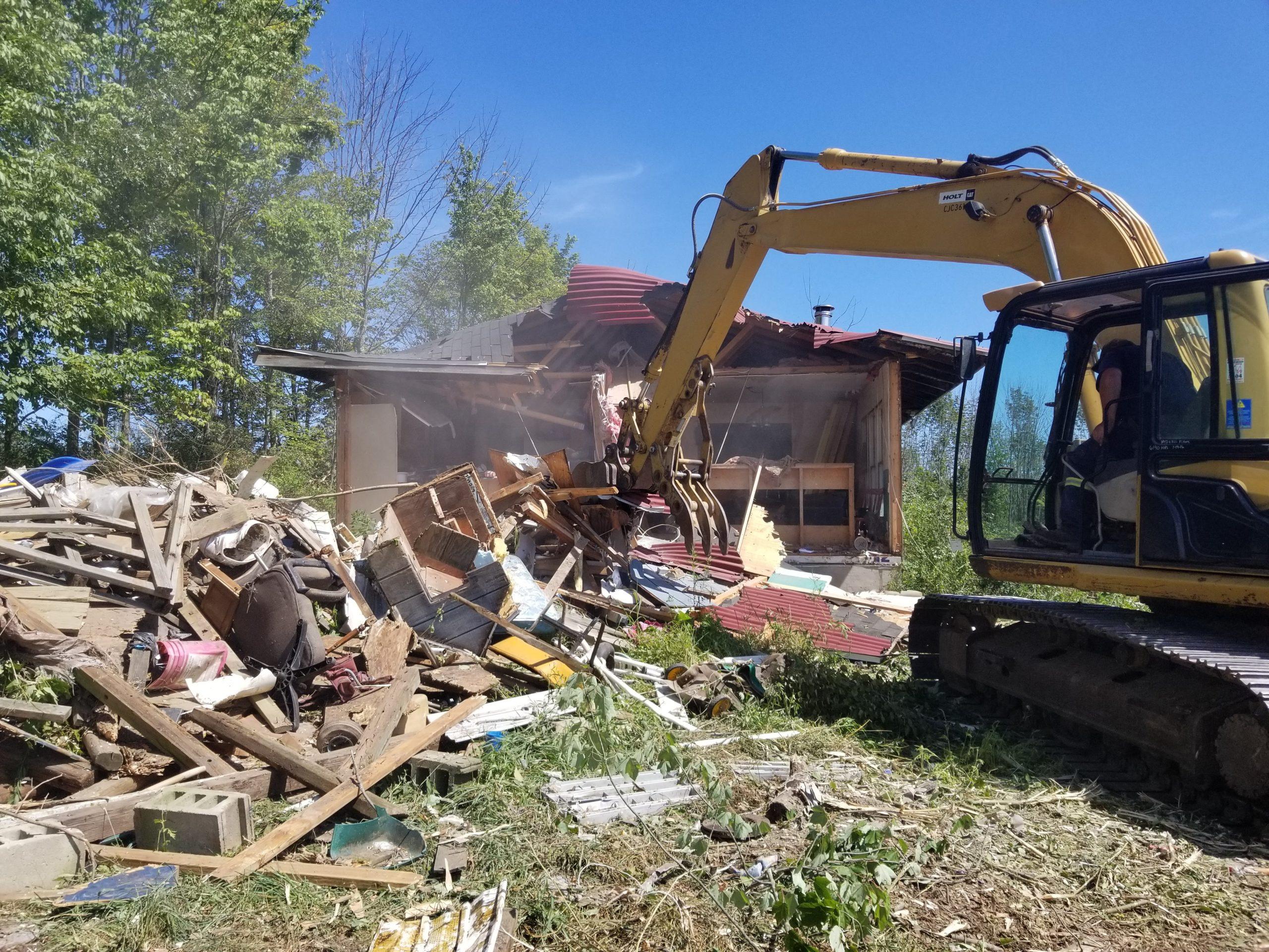 demolition contractor in Scranton, PA
