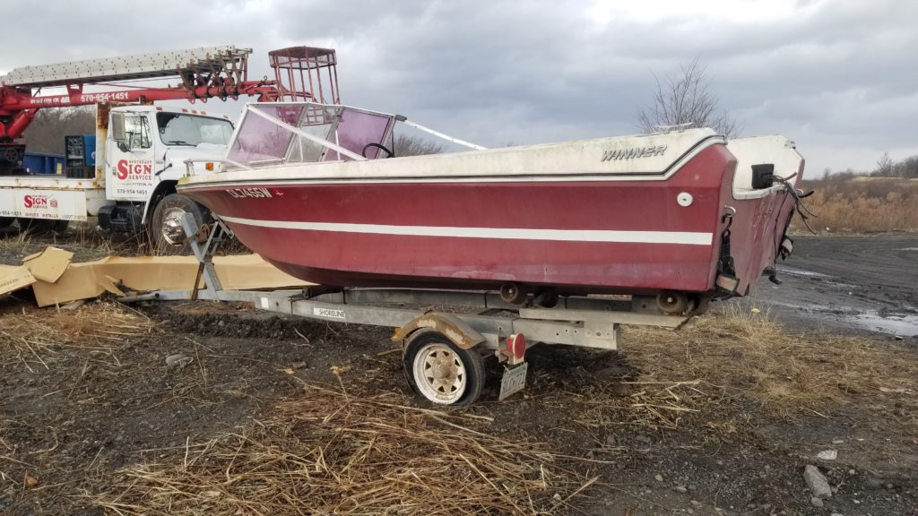 Donate your old boat