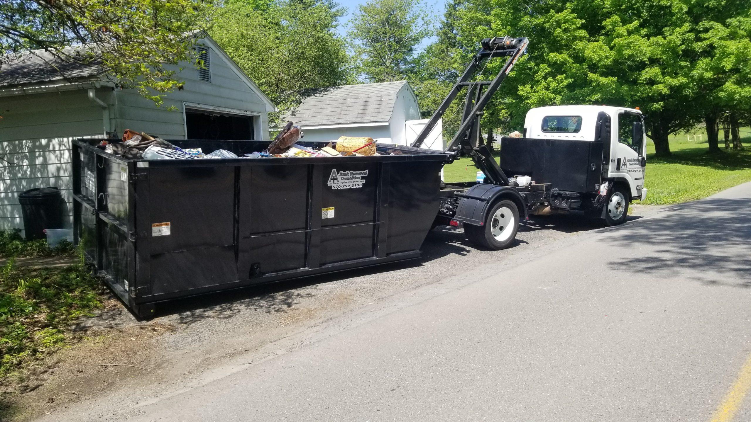 Dumpster Rental Company in Wilkes-Barre