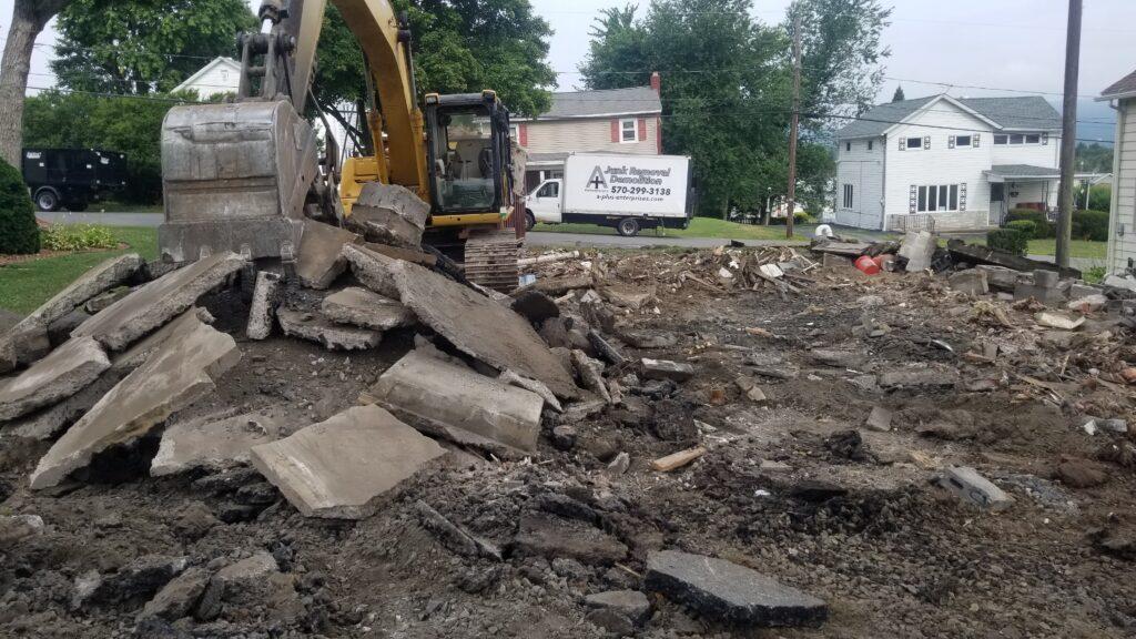 Concrete Removal Demolition Contractor Wilkes-Barre, PA