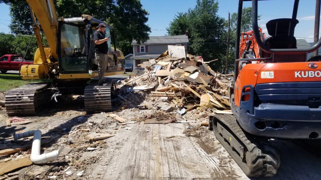 House Demolition Company in Wilkes-Barre, Pennsylvania